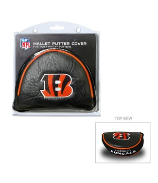 Team Golf CINCINNATI BENGALS Golf Mallet Putter Cover