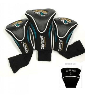 Team Golf JACKSONVILLE JAGUARS 3 Pack Contour Golf Head Covers