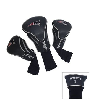 Team Golf NEW ENGLAND PATRIOTS 3 Pack Contour Golf Head Covers