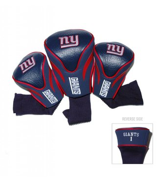 Team Golf NEW YORK GIANTS 3 Pack Contour Golf Head Covers