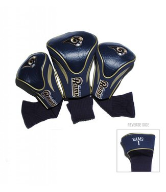 Team Golf LOS ANGELES RAMS 3 Pack Contour Golf Head Covers