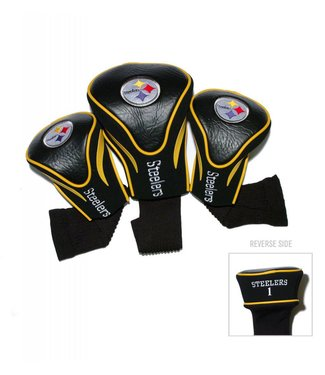 Team Golf PITTSBURGH STEELERS 3 Pack Contour Golf Head Covers