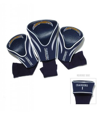 Team Golf SAN DIEGO CHARGERS 3 Pack Contour Golf Head Covers