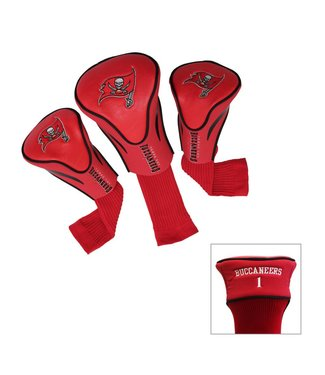 Team Golf TAMPA BAY BUCCANEERS 3 Pack Contour Golf Head Covers