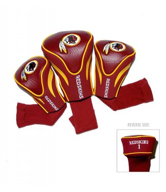Team Golf WASHINGTON REDSKINS 3 Pack Contour Golf Head Covers