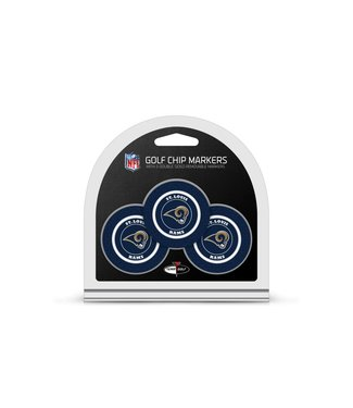 Team Golf LOS ANGELES RAMS 3 Pack Golf Chip Ball Markers