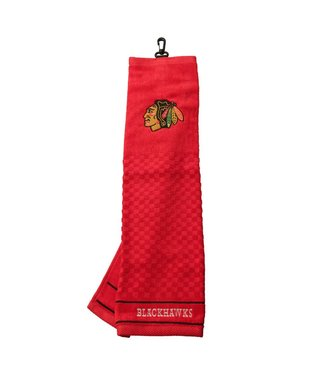 Team Golf CHICAGO BLACKHAWKS Embroidered Golf Towel