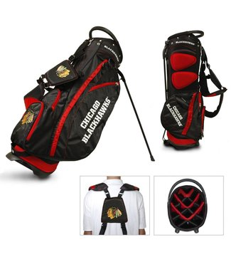 Team Golf CHICAGO BLACKHAWKS Fairway Golf Stand Bag