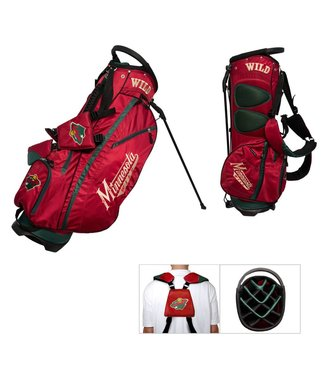 Team Golf MINNESOTA WILD Fairway Golf Stand Bag