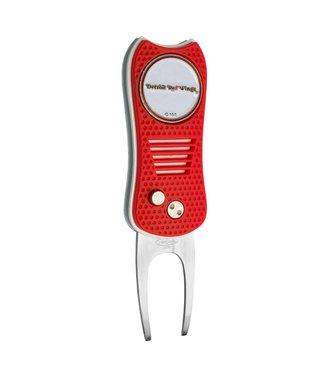 Team Golf DETROIT RED WINGS Switchfix Golf Divot Tool