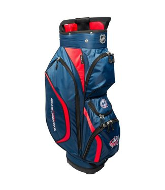 f911add99bdb03 Team Golf COLUMBUS BLUE JACKETS Clubhouse golf Cart Bag