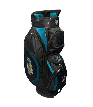 Team Golf SAN JOSE SHARKS Clubhouse golf Cart Bag