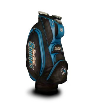 Team Golf SAN JOSE SHARKS Victory Golf Cart Bag