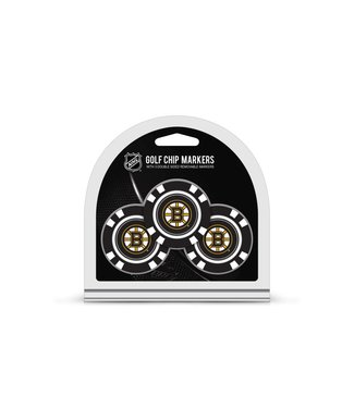 Team Golf BOSTON BRUINS 3 Pack Golf Chip Ball Markers
