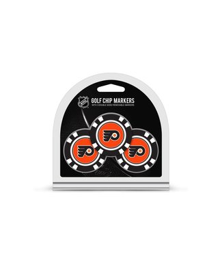 Team Golf PHILADELPHIA FLYERS 3 Pack Golf Chip Ball Markers