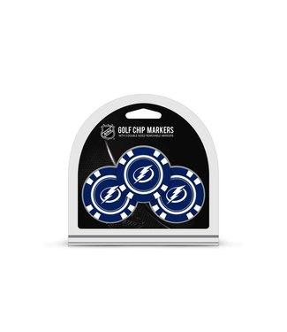 Team Golf TAMPA BAY LIGHTNING 3 Pack Golf Chip Ball Markers