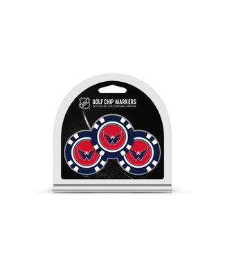 Team Golf WASHINGTON CAPITALS 3 Pack Golf Chip Ball Markers