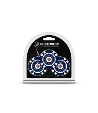Team Golf WINNIPEG JETS 3 Pack Golf Chip Ball Markers