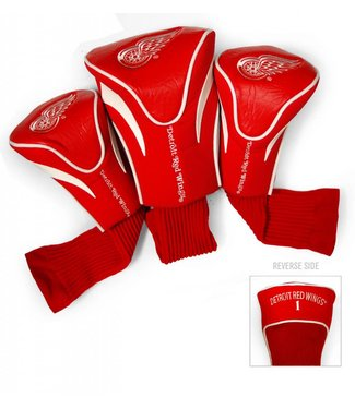 Team Golf DETROIT RED WINGS 3 Pack Contour Golf Head Covers