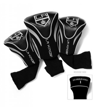 Team Golf LOS ANGELES KINGS 3 Pack Contour Golf Head Covers