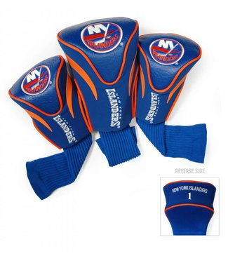 Team Golf NEW YORK ISLANDERS 3 Pack Contour Golf Head Covers