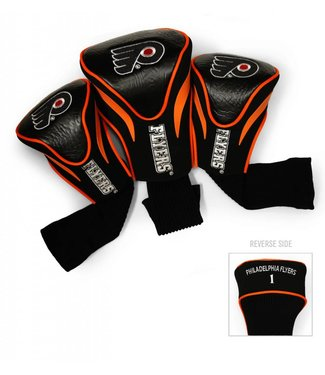 Team Golf PHILADELPHIA FLYERS 3 Pack Contour Golf Head Covers