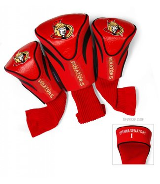 Team Golf OTTAWA SENATORS 3 Pack Contour Golf Head Covers
