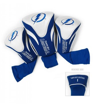 Team Golf TAMPA BAY LIGHTNING 3 Pack Contour Golf Head Covers