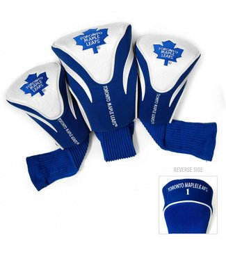 Team Golf TORONTO MAPLE LEAFS 3 Pack Contour Golf Head Covers
