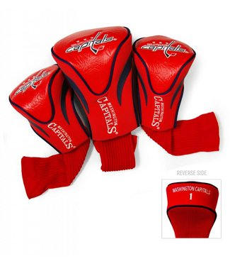 Team Golf WASHINGTON CAPITALS 3 Pack Contour Golf Head Covers