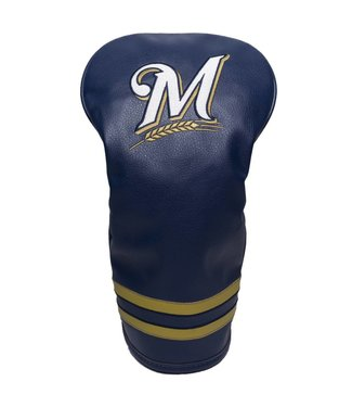 Team Golf MILWAUKEE BREWERS Vintage Golf Driver Head Cover