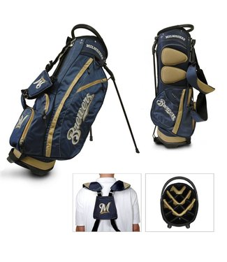Team Golf MILWAUKEE BREWERS Fairway Golf Stand Bag