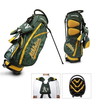 Team Golf OAKLAND ATHLETICS Fairway Golf Stand Bag