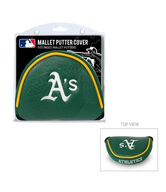 Team Golf OAKLAND ATHLETICS Golf Mallet Putter Cover
