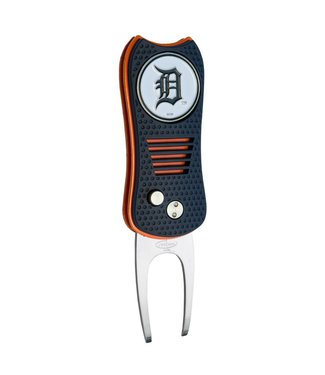 Team Golf DETROIT TIGERS Switchfix Golf Divot Tool