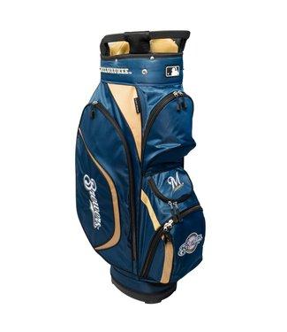 Team Golf MILWAUKEE BREWERS Clubhouse golf Cart Bag