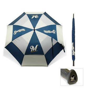 Team Golf MILWAUKEE BREWERS Oversize Golf Umbrella