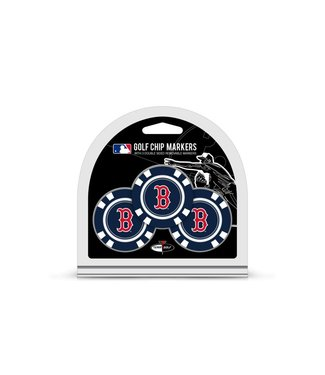 Team Golf BOSTON RED SOX 3 Pack Golf Chip Ball Markers