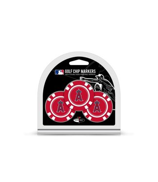 Team Golf LOS ANGELES ANGELS 3 Pack Golf Chip Ball Markers
