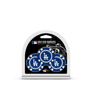 Team Golf LOS ANGELES DODGERS 3 Pack Golf Chip Ball Markers