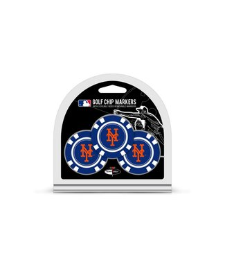 Team Golf NEW YORK METS 3 Pack Golf Chip Ball Markers