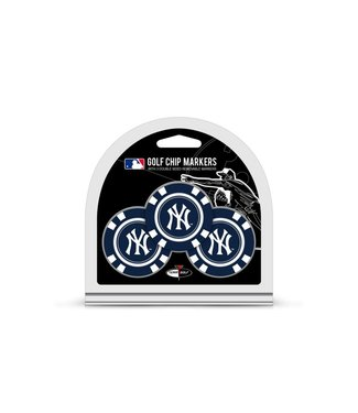 Team Golf NEW YORK YANKEES 3 Pack Golf Chip Ball Markers