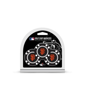Team Golf SAN FRANCISCO GIANTS 3 Pack Golf Chip Ball Markers