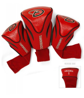 Team Golf ARIZONA DIAMONDBACKS 3 Pack Contour Golf Head Covers