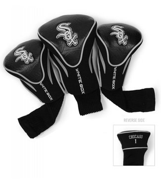 Team Golf CHICAGO WHITE SOX 3 Pack Contour Golf Head Covers