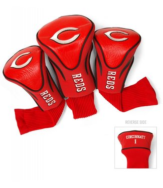 Team Golf CINCINNATI REDS 3 Pack Contour Golf Head Covers