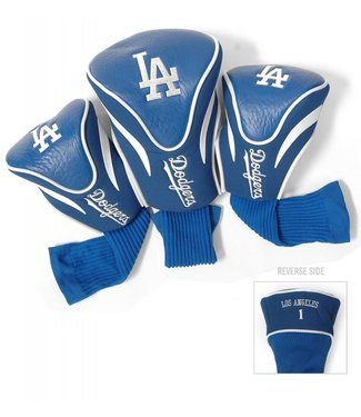 Team Golf LOS ANGELES DODGERS 3 Pack Contour Golf Head Covers