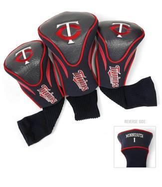 Team Golf MINNESOTA TWINS 3 Pack Contour Golf Head Covers