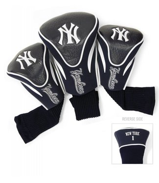 Team Golf NEW YORK YANKEES 3 Pack Contour Golf Head Covers
