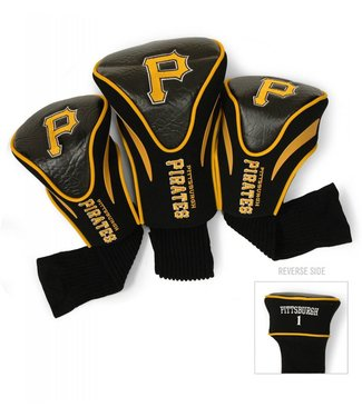 Team Golf PITTSBURGH PIRATES 3 Pack Contour Golf Head Covers